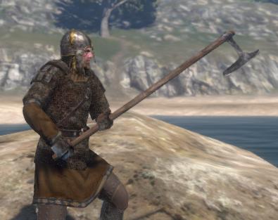 Black Guard's Long Axe