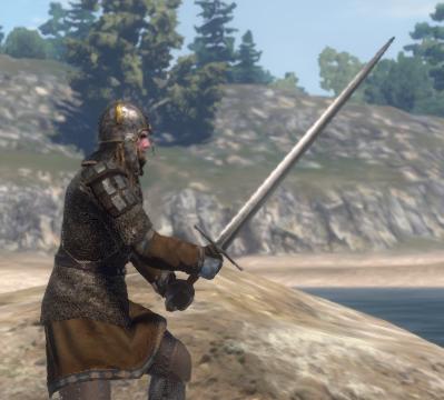 Karleonian War Sword